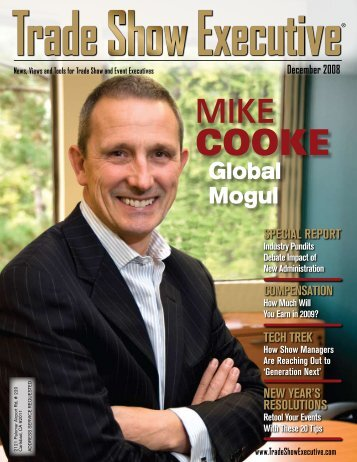 the December 2008 Issue in PDF Format - Trade Show Executive