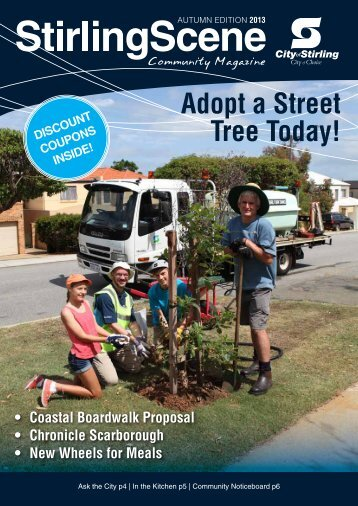 Adopt a Street Tree Today! - City of Stirling