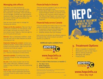 Hep C: 3 - Treatment Options - pasan