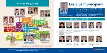Présentation du conseil municipal et des élus de quartier (pdf - 498 ...
