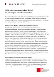 Kompaktinfo Fakten-Check Roesler - Karin Roth, MdB