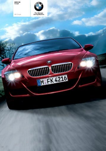 The BMW M6 Coupé - Sunriseleasing.co.uk
