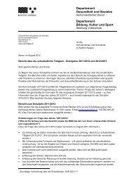 Information zum Tätigkeitsbericht 2011/12 und 2012/13