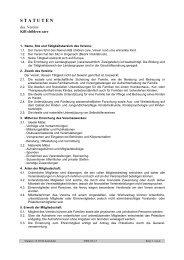Statuten 13.03.04 Korrektur - KiB Children Care
