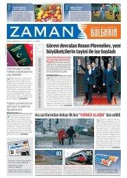 5 Şubat 2012 - Zaman Bulgaristan