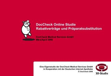 Management Summary - Doccheck Research