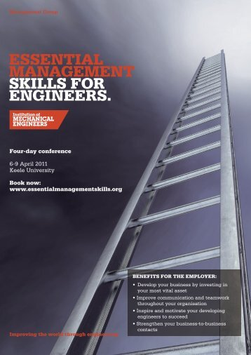 ESSENtIAL MANAGEMENt SKILLS FOR ENGINEERS.