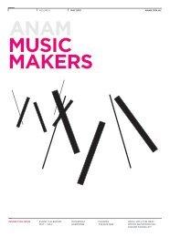 Music Makers - Vol. 6 May - Jul 2013 - Australian National Academy ...