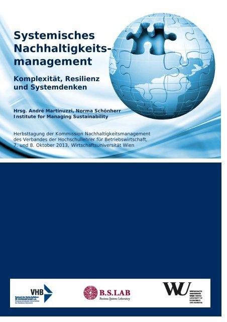 Systemisches Nachhaltigkeits management Institute for