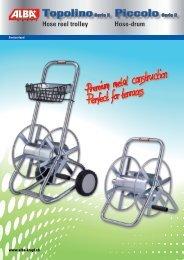 Brochure New Topolino + Piccolo Serie II - Alba Krapf AG
