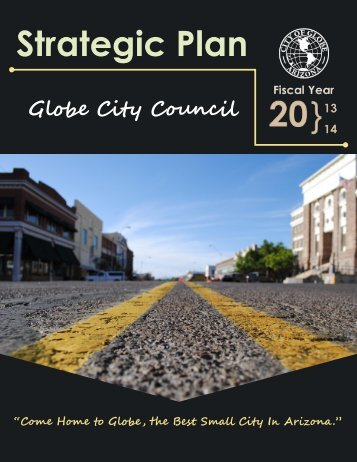 Strategic Plan - City of Globe