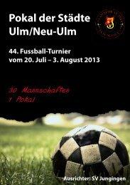 Pokal der Städte Ulm/Neu-Ulm - Sportverein Jungingen 1946 eV