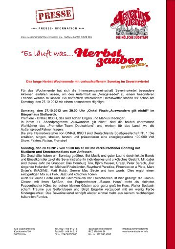 2012_10_24_Presseinfo-Herbstzauber em Vringsveedel 2012