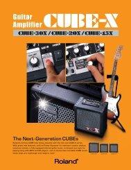 The Next-Generation CUBEs - Roland