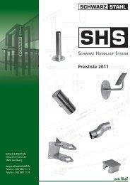 Preisliste 2011 - Schwarz Stahl AG