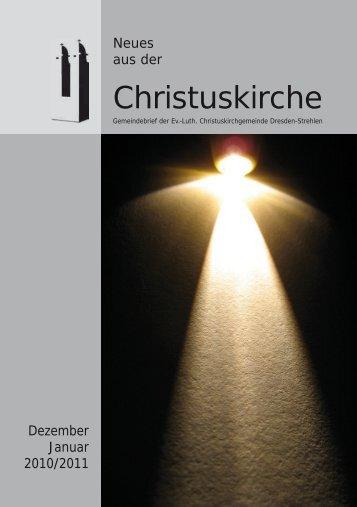 Gemeindebrief Dezember 2010 und Januar 2011 als pdf