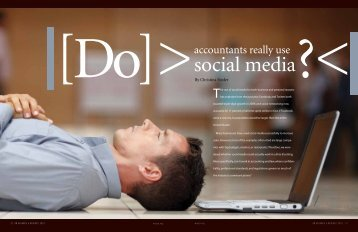 Why do accountants use social media? - WICPA