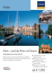 ab € 1.095 - Karstadt Reisen