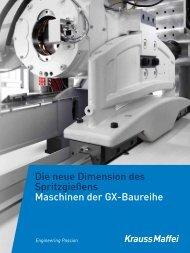 Maschinen der GX-Baureihe - GX-Baureihe - KraussMaffei