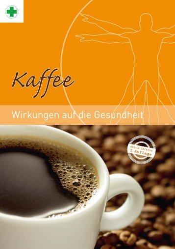 in Doppelseiten - Kaffee-Wirkungen