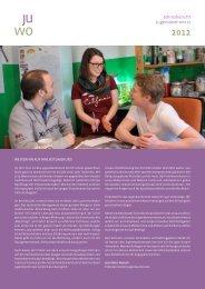 Jahresbericht Jugendwohnnetz