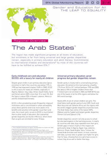 Arab States - Unesco