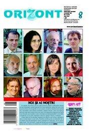 NOI {I AI NO{TRI - revistaorizont.ro