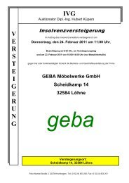 Geba - IVG mbH & Co. KG