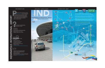 Driving Directions - Indianapolis International Airport