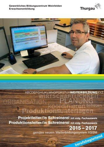 Projekt- und Produktionsleiter Schreinerei 2014_2017