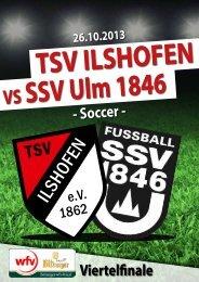 - Soccer - Viertelfinale