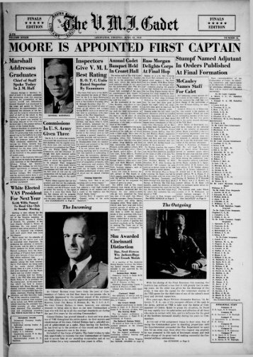 The Cadet. VMI Newspaper. June 12, 1940 - New Page 1 [www2 ...