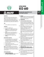Ultrabond ECO 980 - Mapei