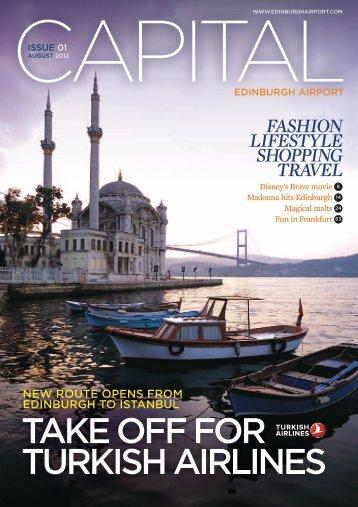 Capital Magazine - Issue 1 - Edinburgh Airport