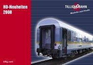 H0-Neuheiten 2008 - Tillig