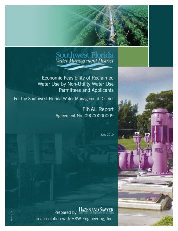 Economic Feasibility of Reclaimed Water Use - Southwest Florida ...