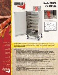 pdf spec download - Cookshack