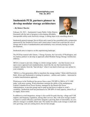 StorageNews213.pdf - Snohomish County PUD