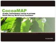 CocoaMAP - World Cocoa Foundation