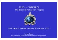 interpol - The Biological and Toxin Weapons Convention Website