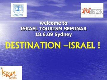 seminar Presentation - Israel Trade Commission
