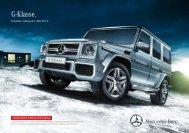 Download Preisliste G-Klasse Cabriolet gültig ab ... - Mercedes-Benz