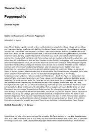 Theodor Fontane Poggenpuhls