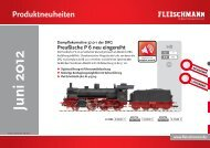 Fleischmann Neuheiten-Info Juni 2012 - ITvlaky.cz