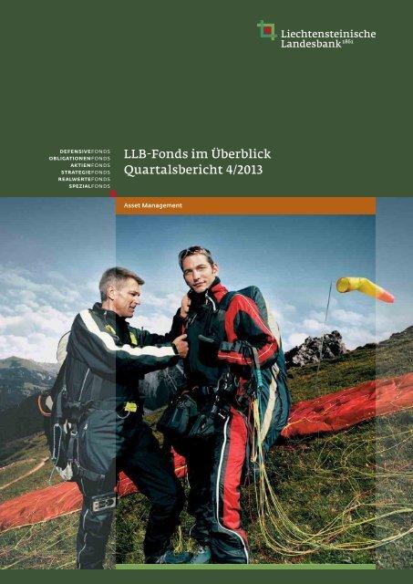 LLB-Fonds im Überblick - Liechtensteinische Landesbank