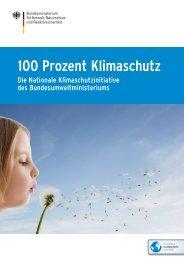 100 Prozent Klimaschutz. Die nationale ... - BMU - Bund.de