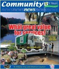 Community News - September 2006 - St Albans City & District Council
