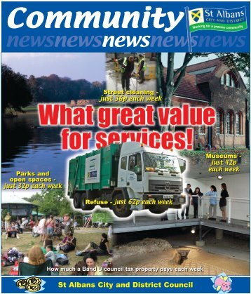 Community News - September 2006 - St Albans City & District Council