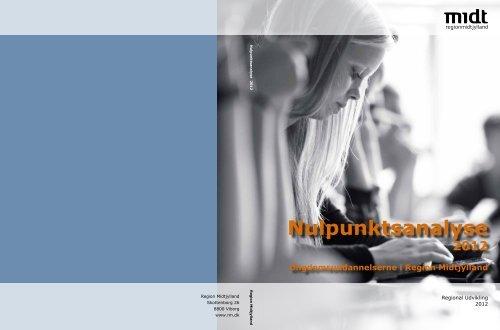 Nulpunktsanalyse 2012 - Region Midtjylland