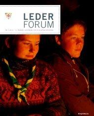 LEDER FORUM - KFUK-KFUM-speiderne
